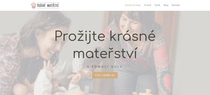 Projekt: Tvorba webu