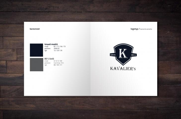 Projekt: logotyp Kavalier´s