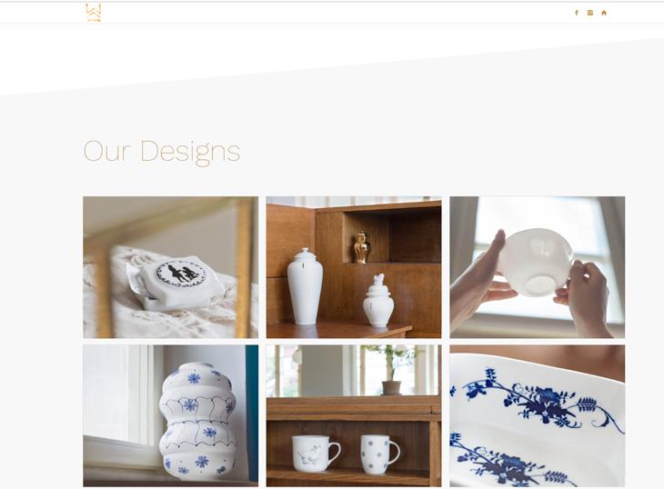 Projekt: Web designové studia Wrinkle