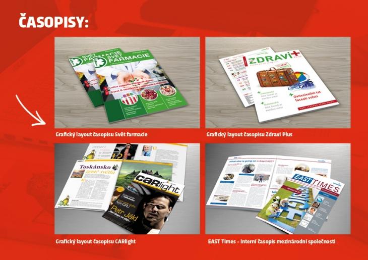 Projekt: časopisy