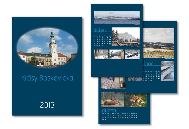 Projekt: Kalendář Boskovic