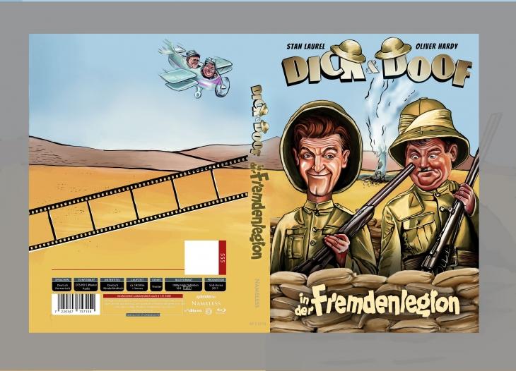 Projekt: Karikatura filmová plakát