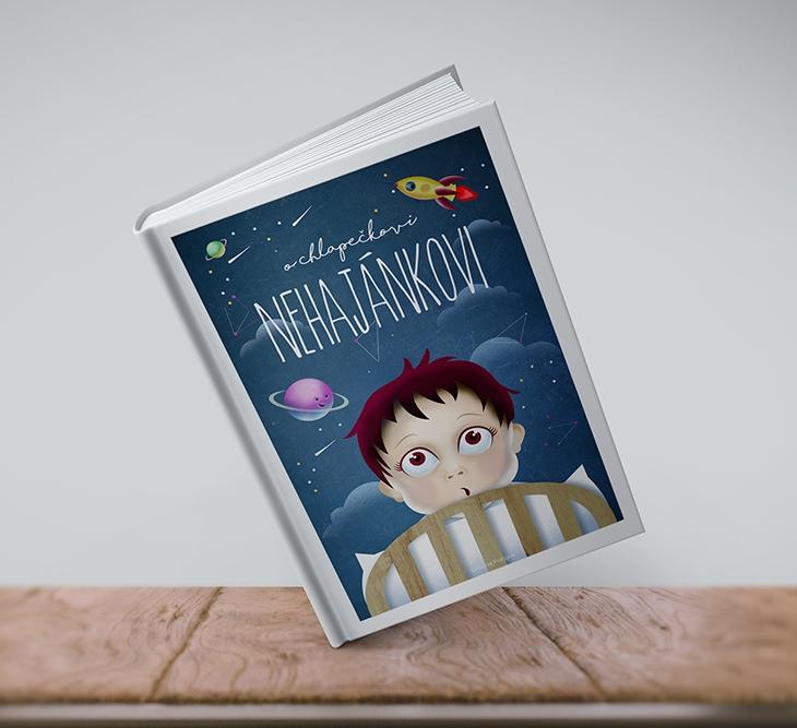 Projekt: Ilustrace na přebal knihy
