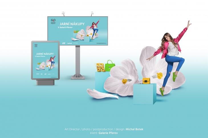 Projekt: Reklamní kampaň - obchodní centrum Galerie Přerov