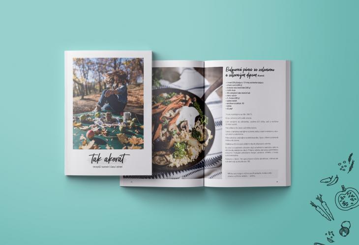 Projekt: Sazba a ilustrace kuchařky