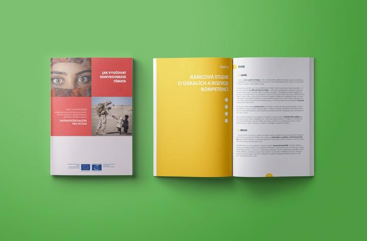 Projekt: Sazba a grafika informační brožury
