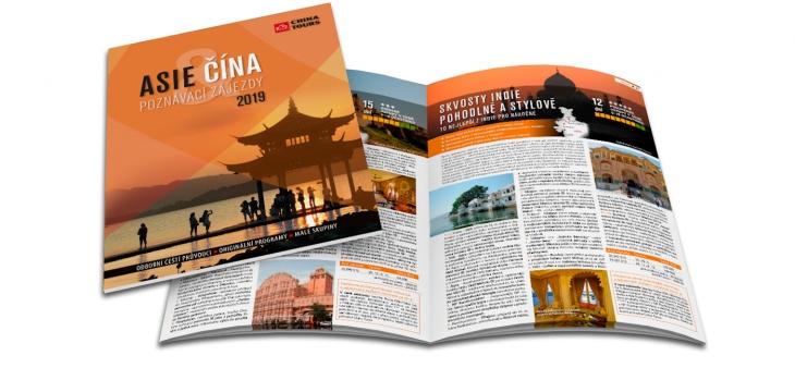 Projekt: Katalog CK China Tours 2019