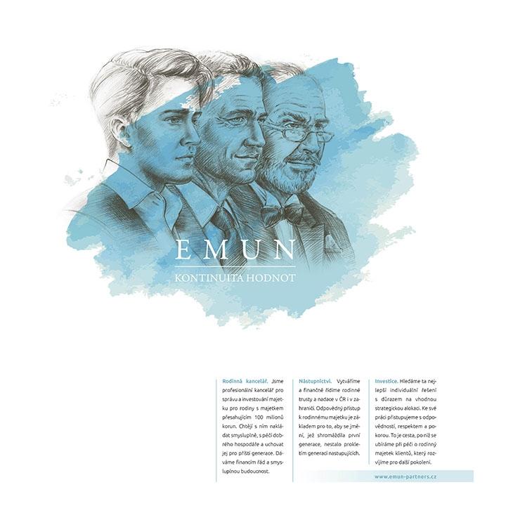 Projekt: EMUN inzerce