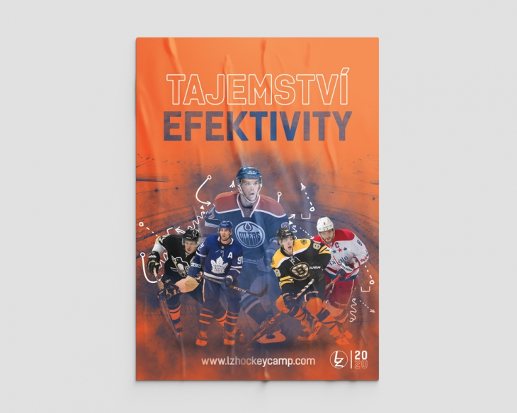 Projekt: Plakát pro hokejovou školu
