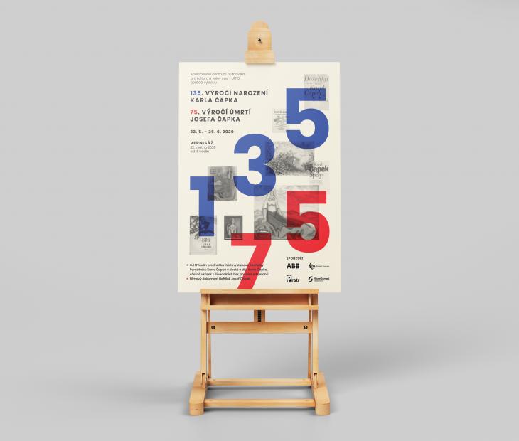 Projekt: Retro plakát výstavy