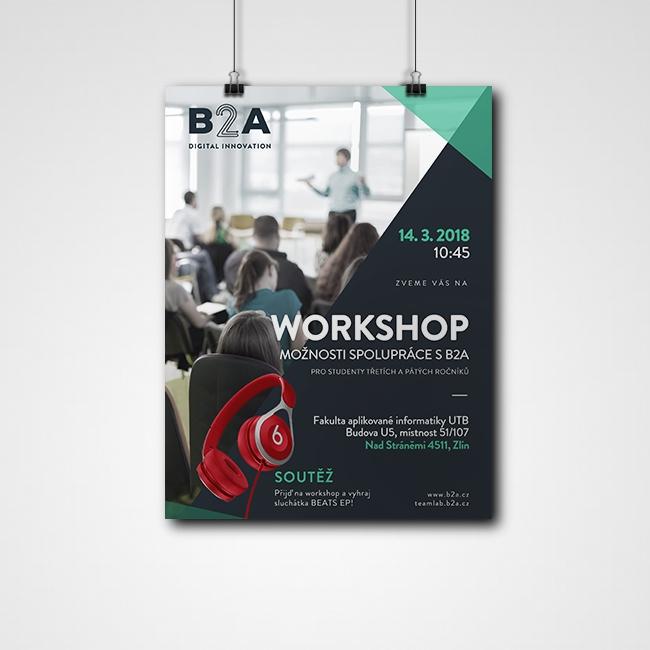 Projekt: Plakát B2A
