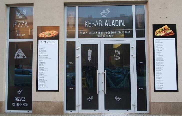 Projekt: Kompletní vizuál KEBAB ALADIN