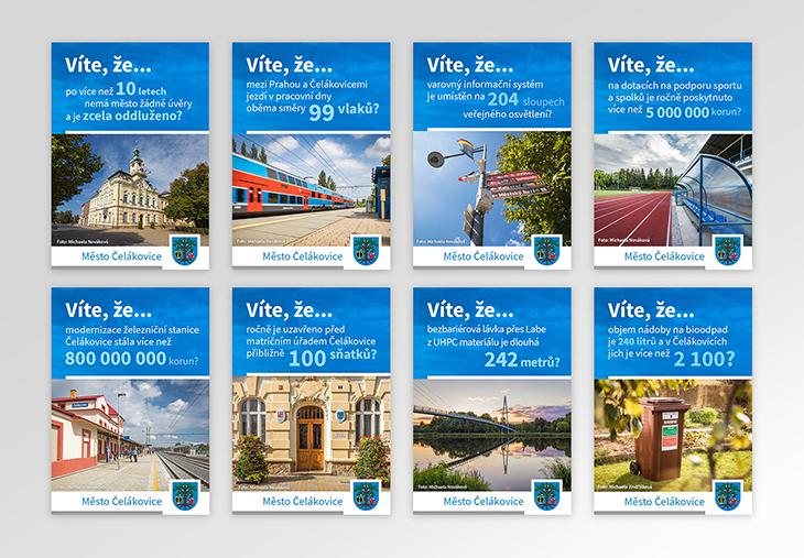 Projekt: Čelákovice - online bannery