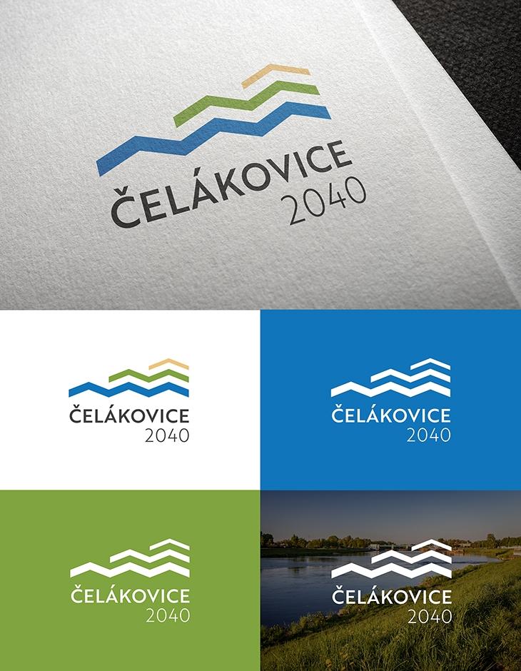 Projekt: Čelákovice 2040 - Logo k projektu