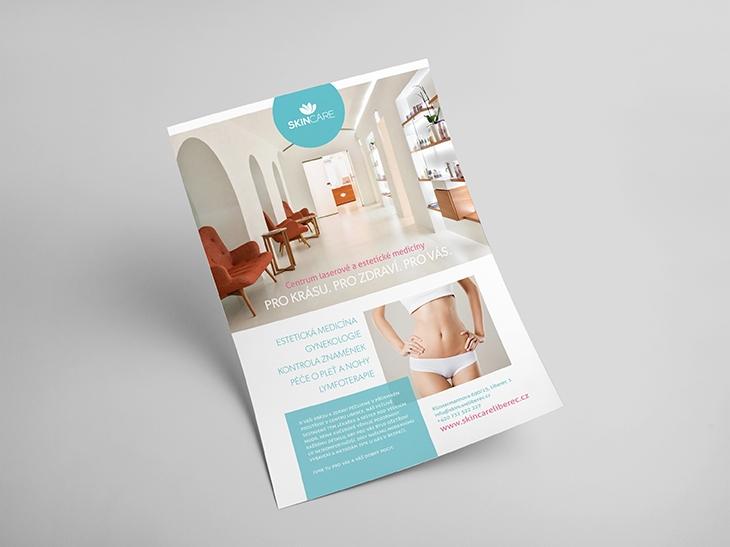 Projekt: Skin care - inzerce