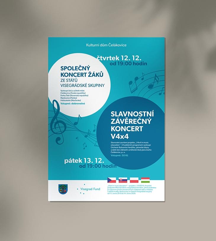 Projekt: Plakát pro koncert