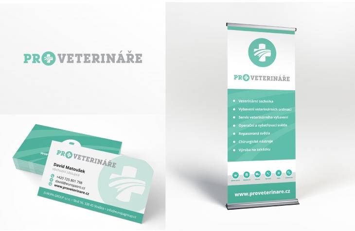 Projekt: Pro veterináře - firemní identita