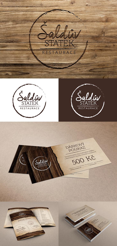 Projekt: Restaurace Šaldův statek - firemní identita