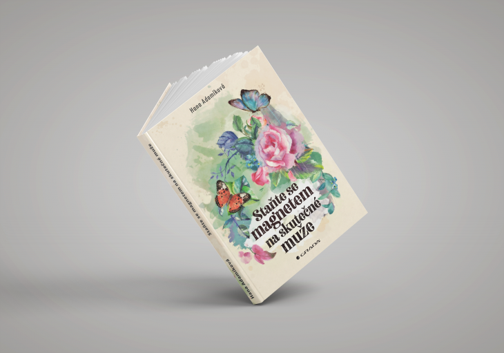 Projekt: Obála knihy - Magnet na opravdové muže