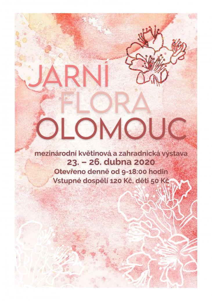 Projekt: Plakát Flora Olomouc 2020