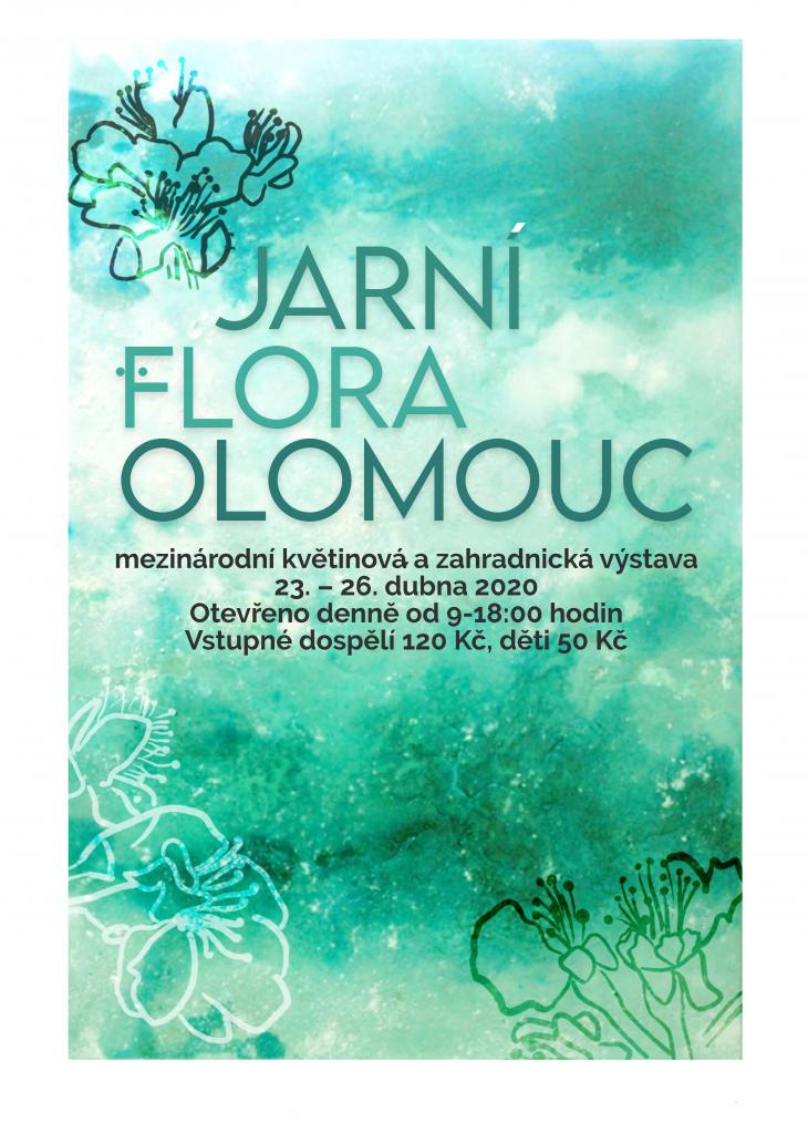 Projekt: 2. Plakát Flora Olomouc 2020
