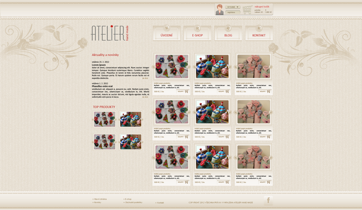 Projekt: Atelier Hand made