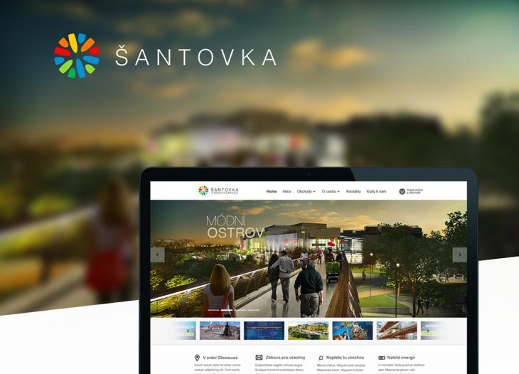 Projekt: Webové stránky Šantovka