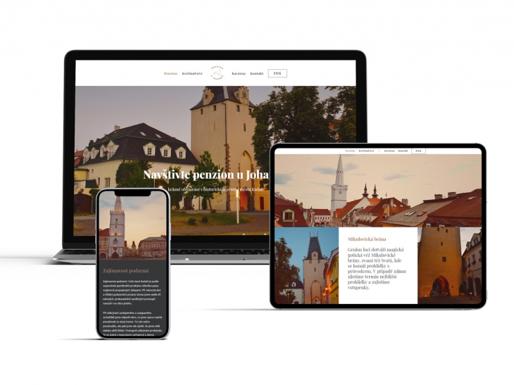 Projekt: Penzion Johanka