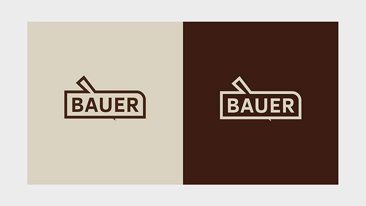 Projekt: Logo Bauer