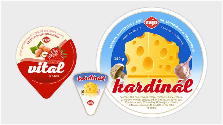 Projekt: Obaly mléčných výrobků