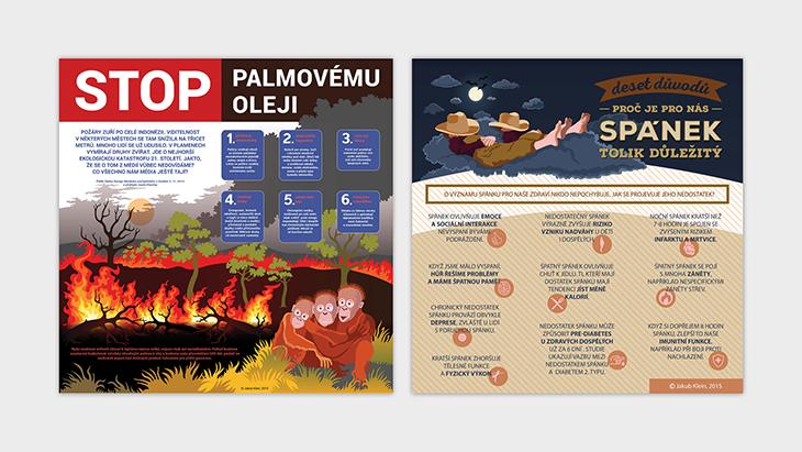 Projekt: infografiky