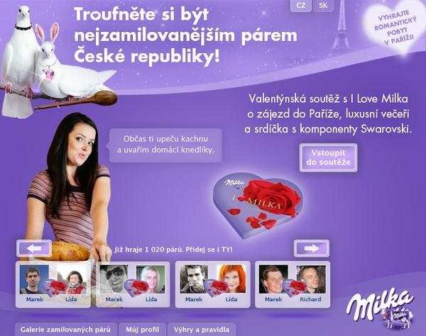 Projekt: Milka