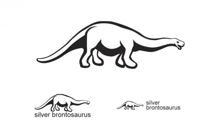 Projekt: Silver Brontosaurus
