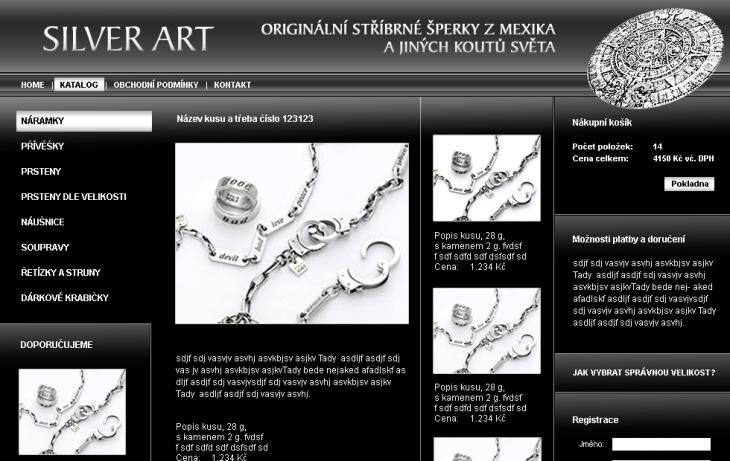 Projekt: Silver Art