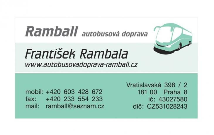 Projekt: Vizitka Ramball