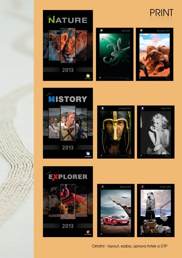 Projekt: Kalendáře