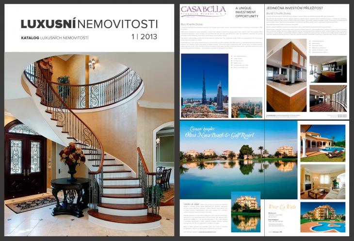 Projekt: Nabídka luxusních nemovitostí