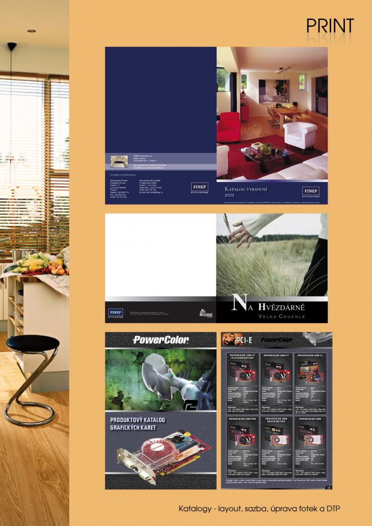 Projekt: Katalogy