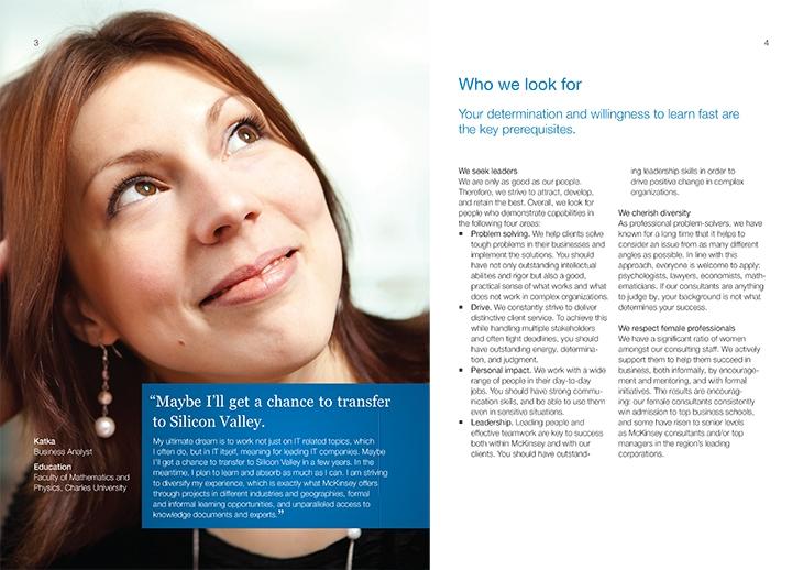 Projekt: Recruitingová brožura