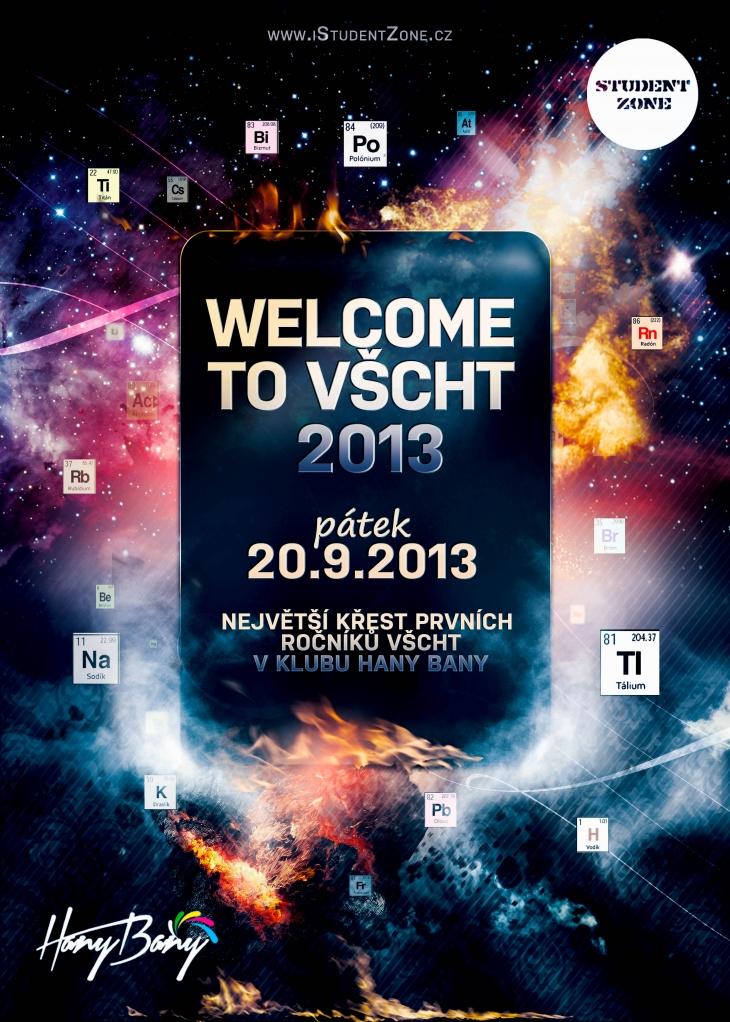 Projekt: Welcome VSCHT