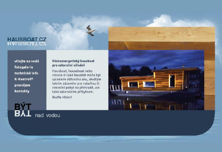 Projekt: Logo a Webdesign Hausboat.cz