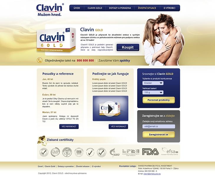 Projekt: Clavin Gold