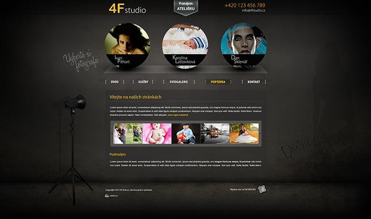 Projekt: 4F studio