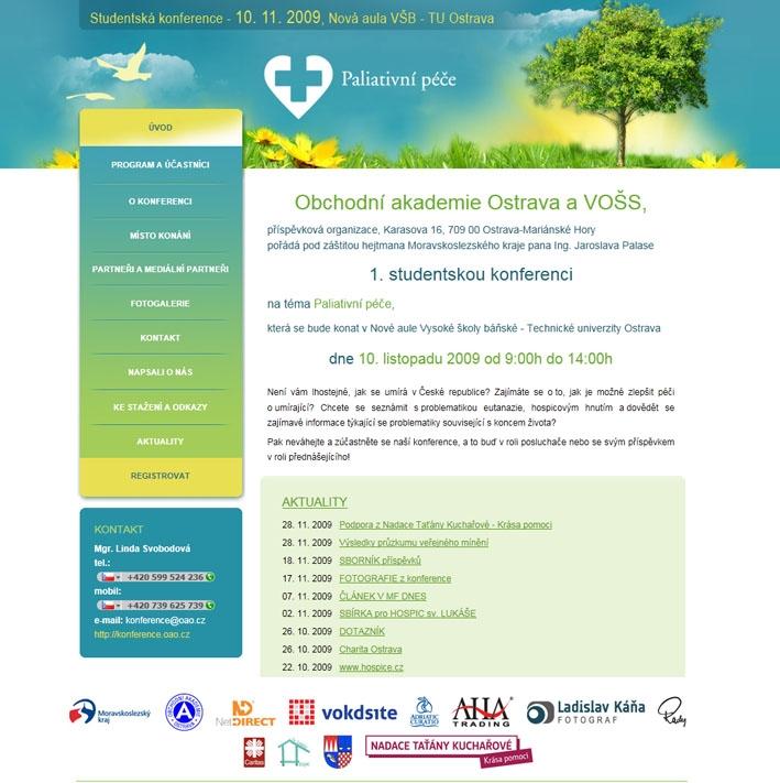 Projekt: Paliativní péče