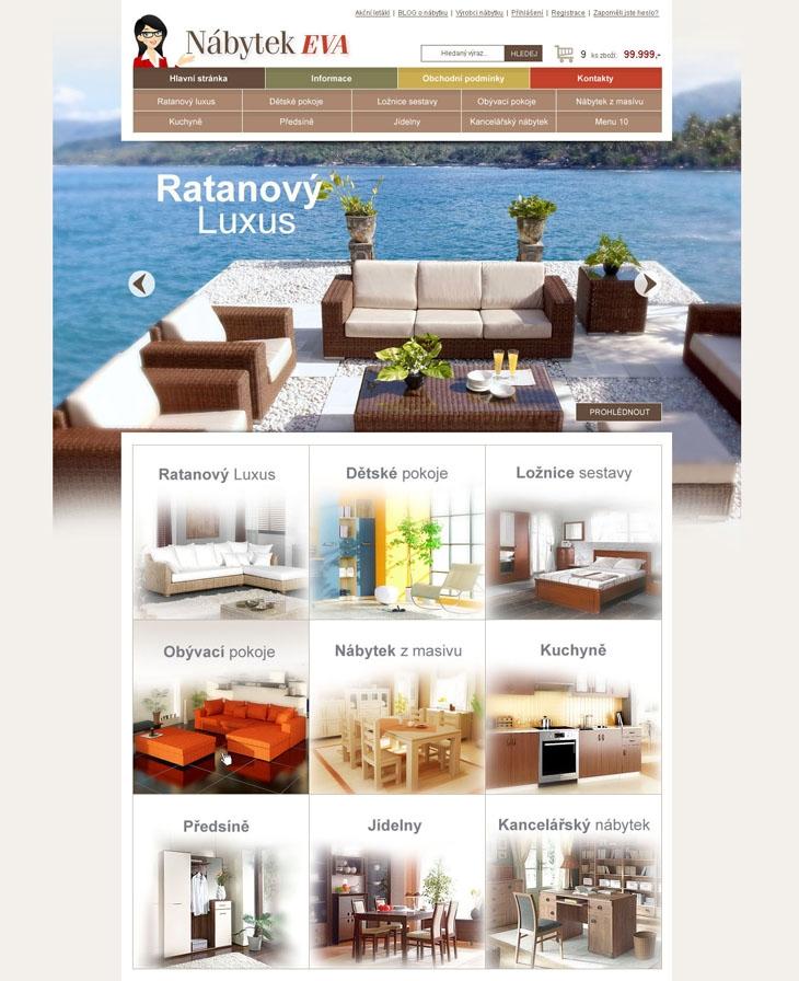 Projekt: Eva nábytek