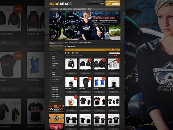 Projekt: Mad Garage