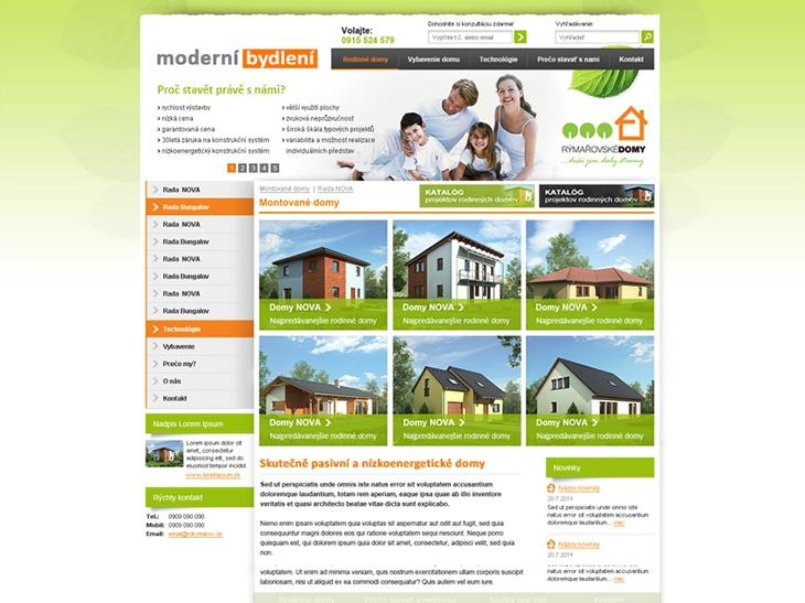 Projekt: Moderní bydlení