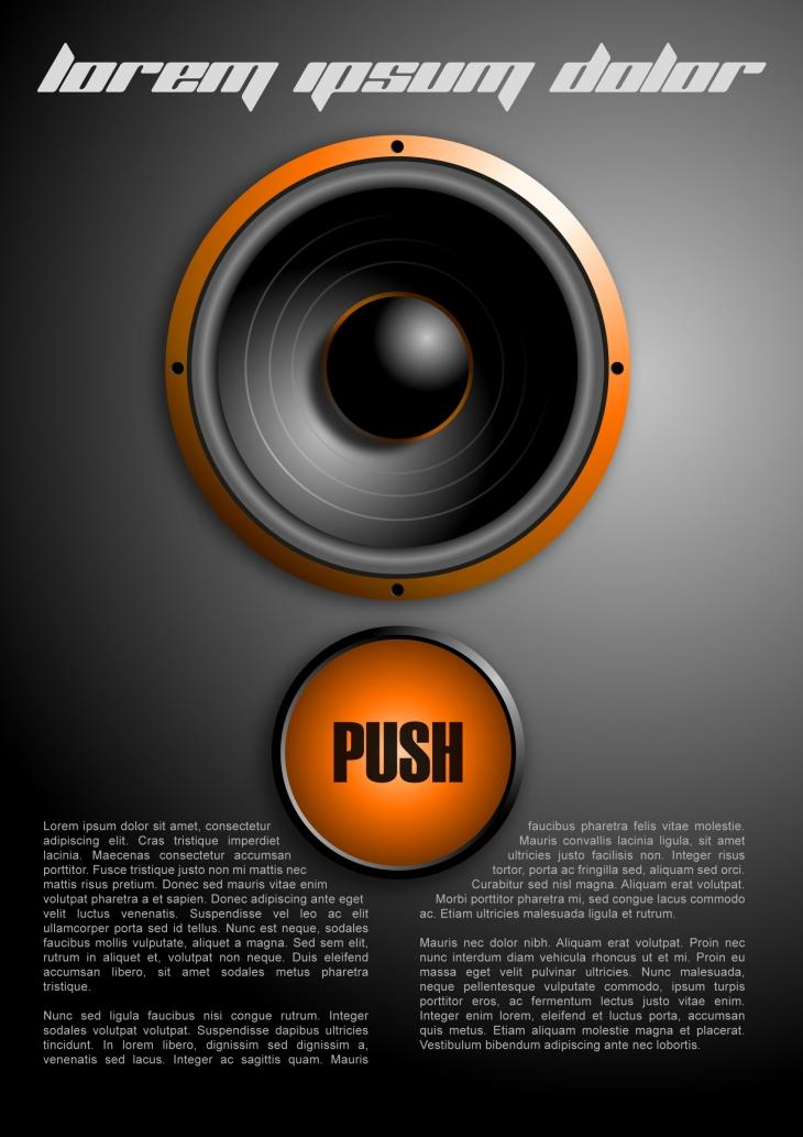 Projekt: Plakát push
