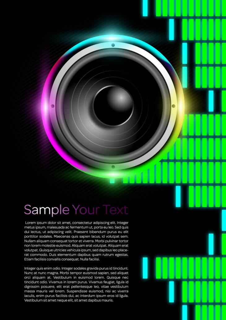 Projekt: plakát music