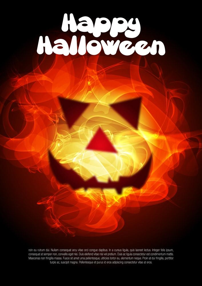 Projekt: halloween poster